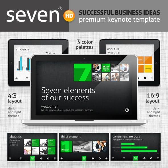 Seven Keynote Template