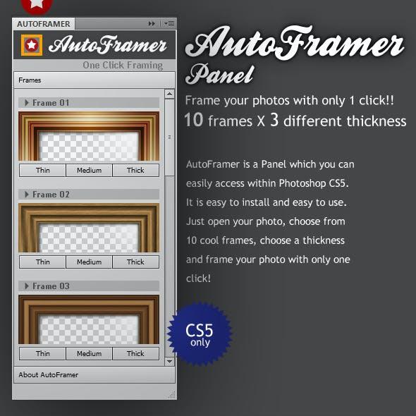 AutoFramer Panel
