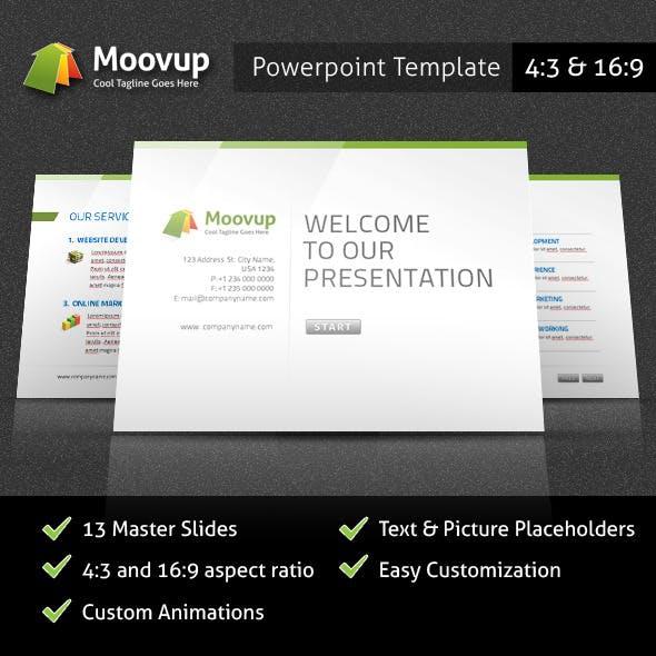 Powerpoint Presentation Template - Moovup