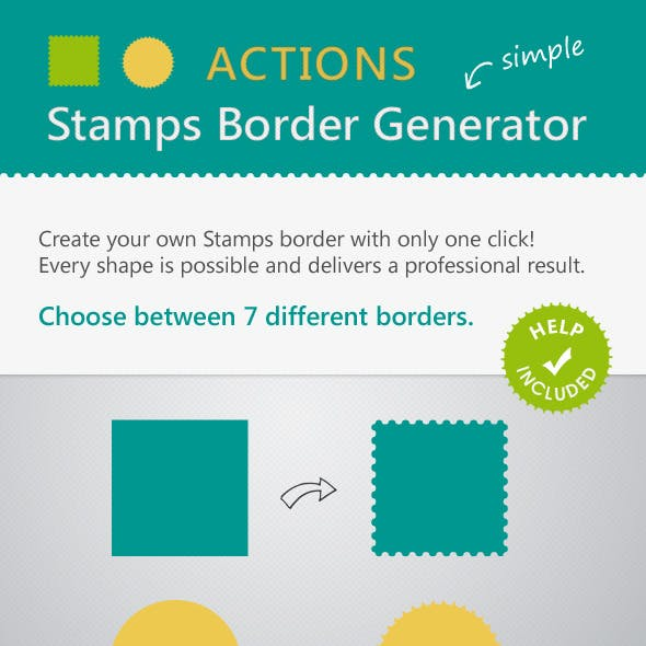 Stamps Border Actions