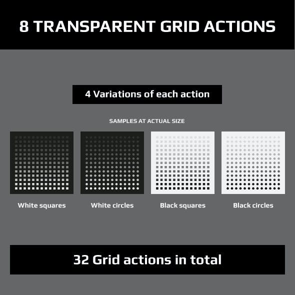 Transparent Grid Actions