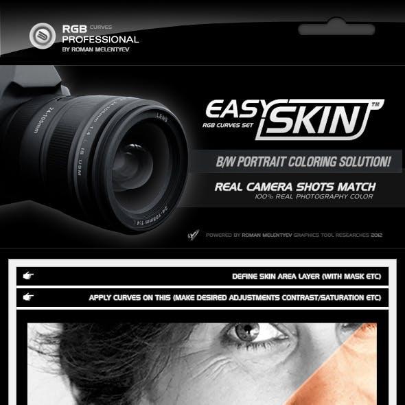 RGB Curves - Easy Skin
