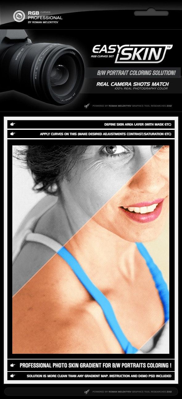 RGB Curves - Easy Skin - Photoshop Add-ons