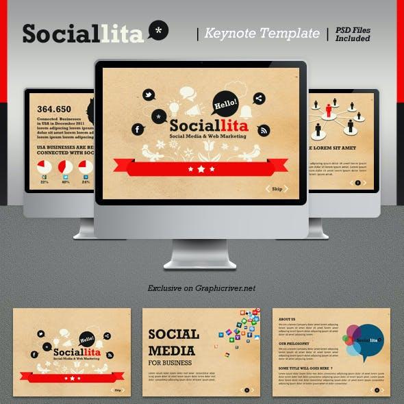 Sociallita Keynote Template