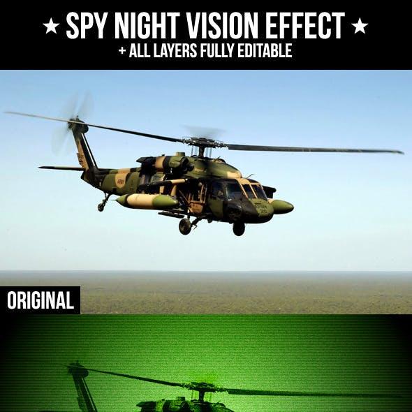 Spy Night Vision Effect