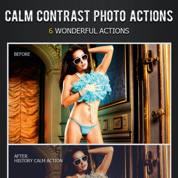Calm Contrast Photo Actions