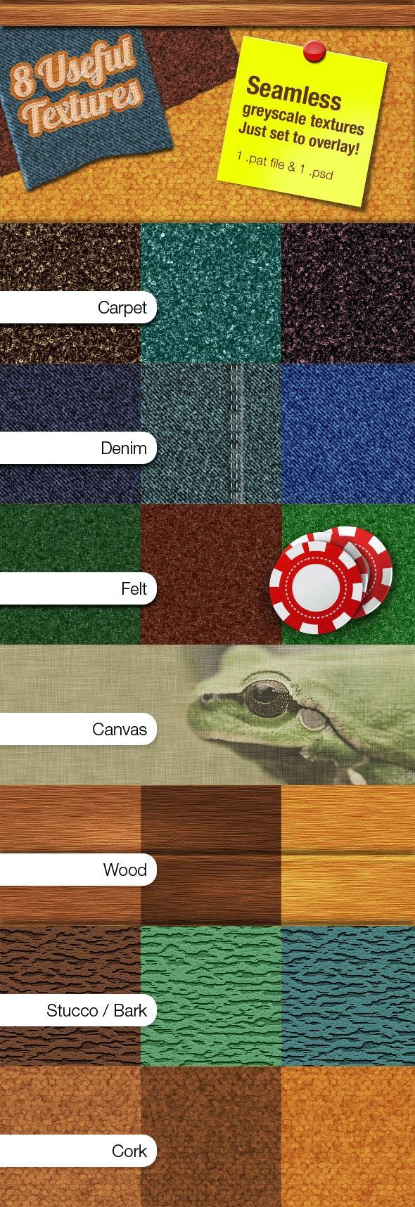 Useful textures - Textures / Fills / Patterns Photoshop