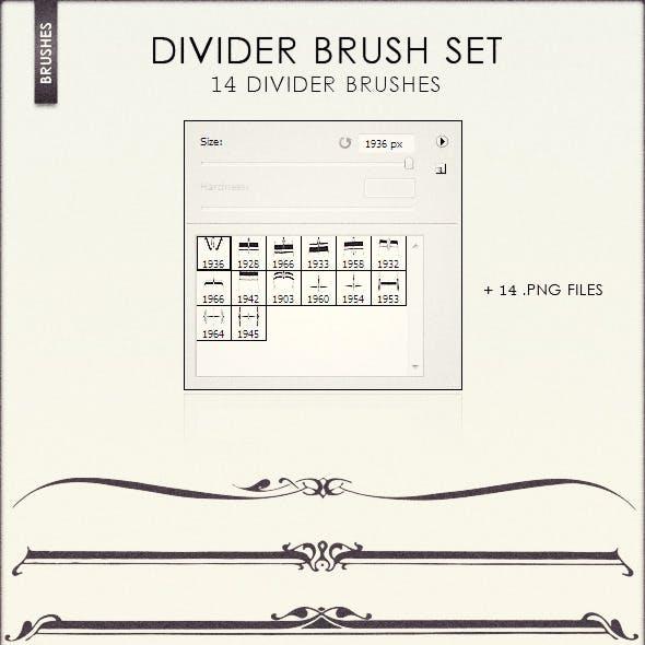 Divider Brush Set