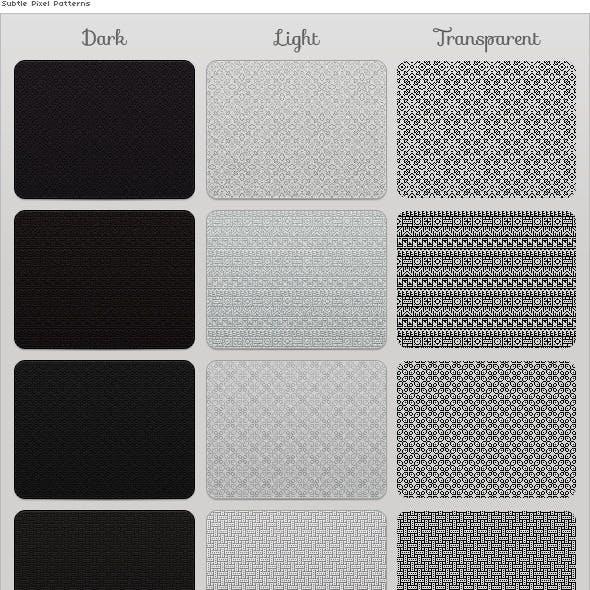 Subtle Pixel Patterns