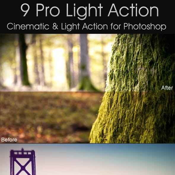 Pro Cinematin & Lighting Actions
