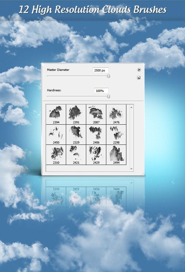 Clouds Brushes 1.0 - Brushes Photoshop