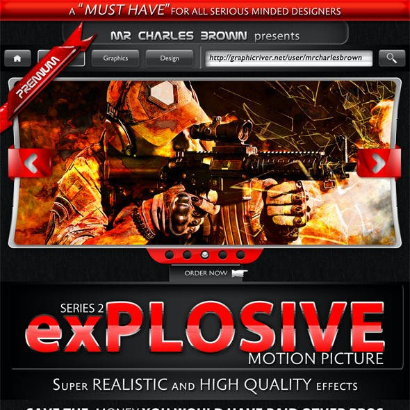 Motion Picture Explosive Series 2