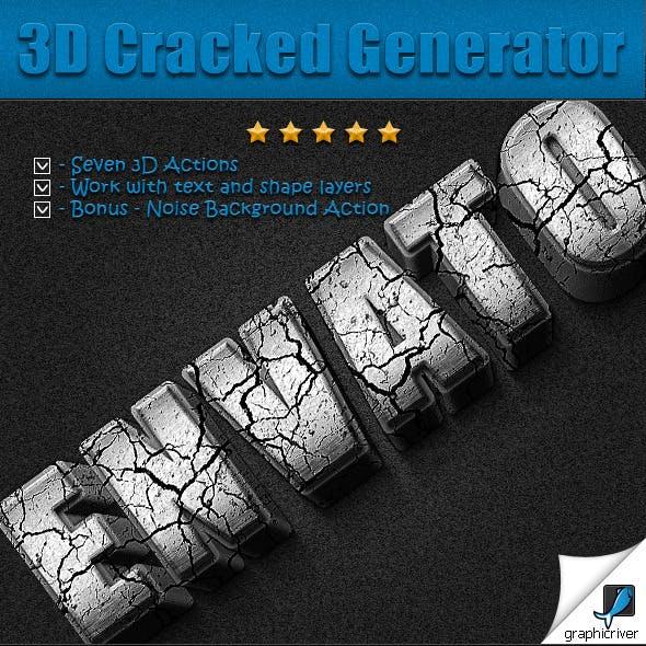 3D Cracked Generator