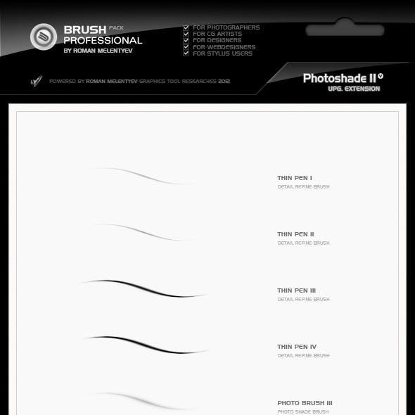 Brush Pack Professional volume 0 - PhotoShade II