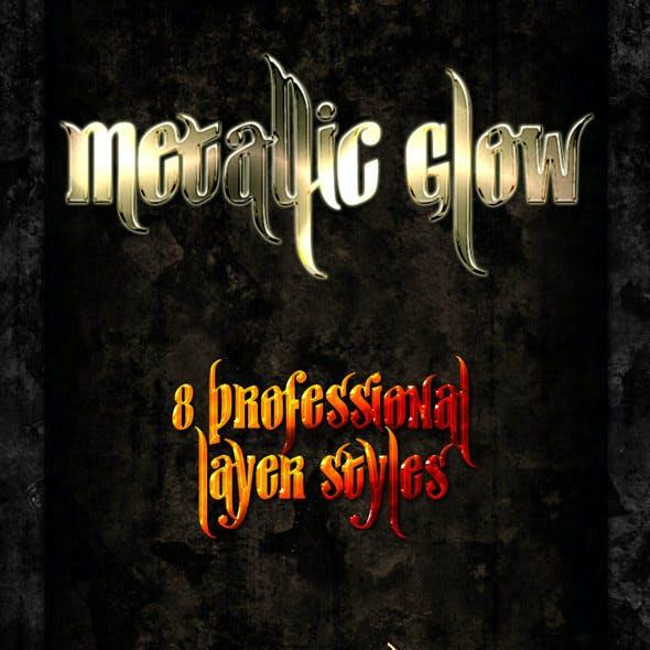 Metallic Glow - Professional Styles