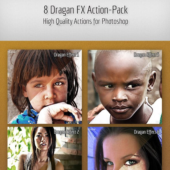 8 Dragan FX Action-Pack