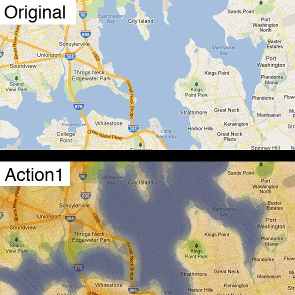 Stylized Maps Actions