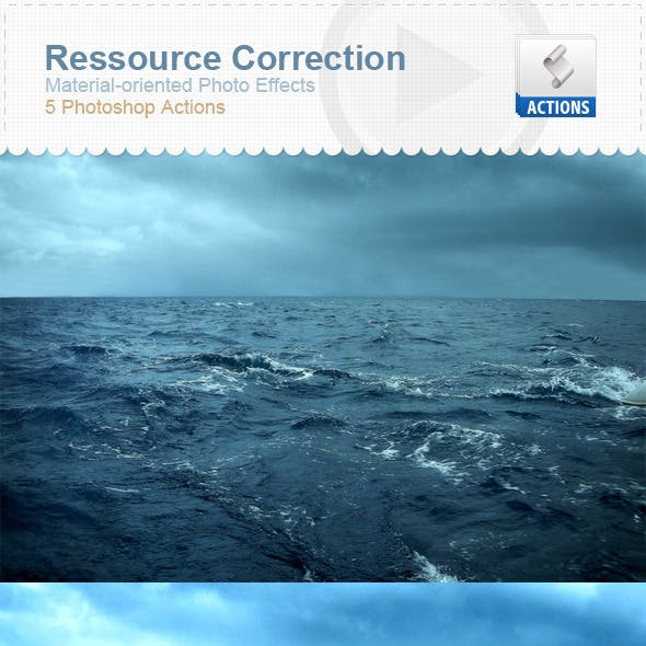Ressource Correction - Material-Oriented Photo Fx