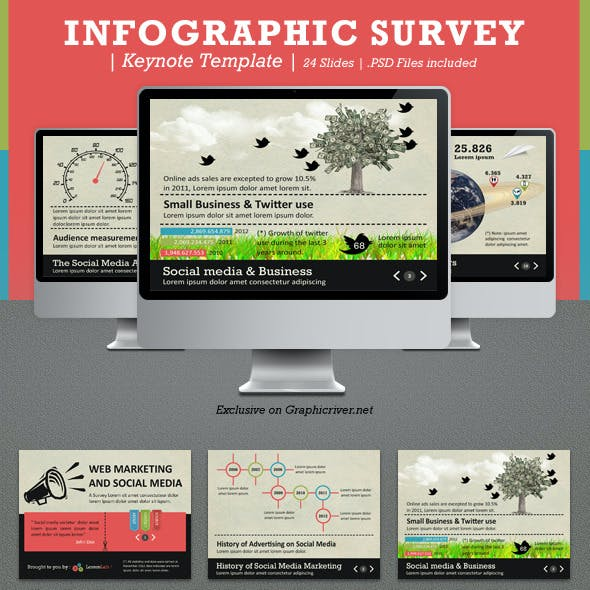 Infographic Survey Keynote Template