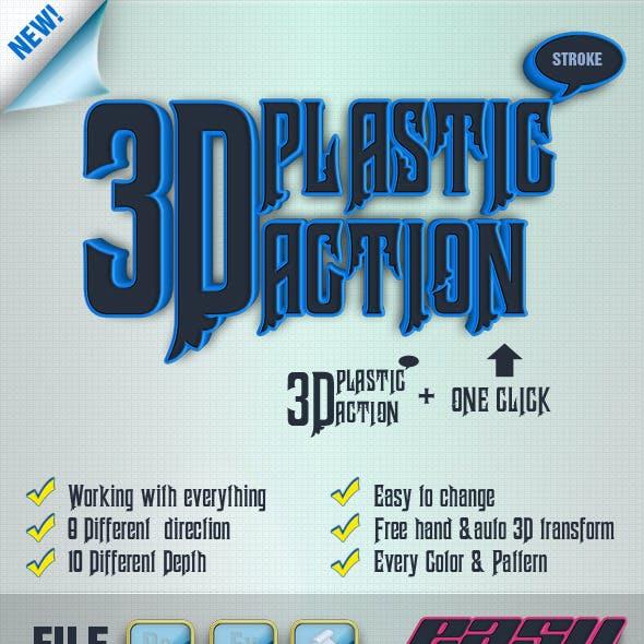 3D Plastic Generator Action