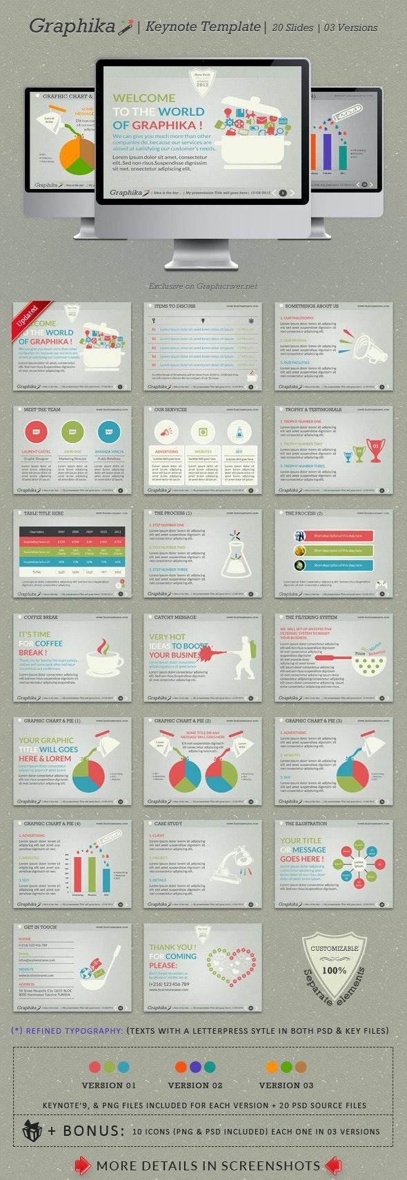 Graphika Keynote Template - Creative Keynote Templates