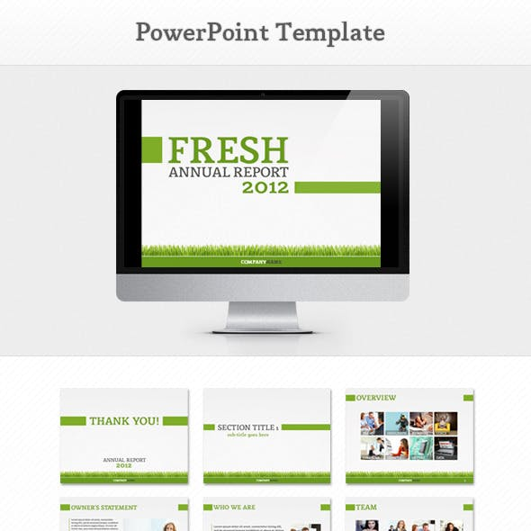 Fresh Report PowerPoint