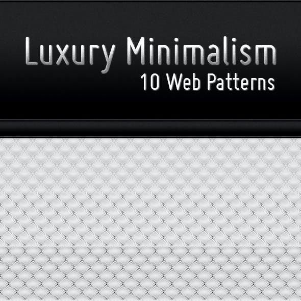 Luxury Minimalism - 10 Web Patterns