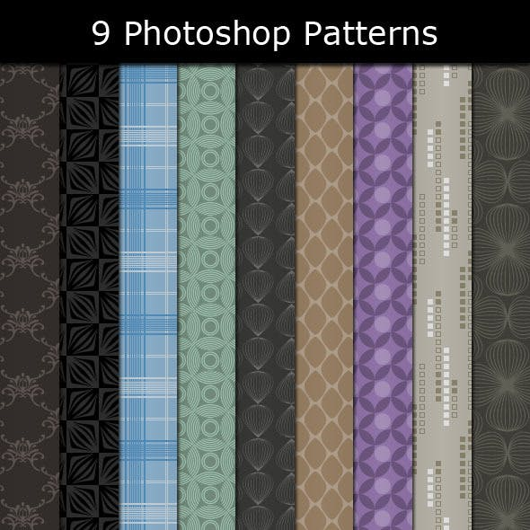9 Photoshop Patterns