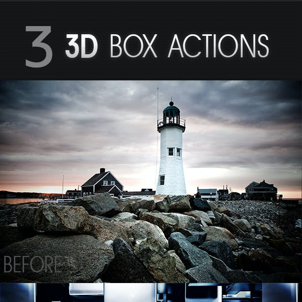 3D Box Actions