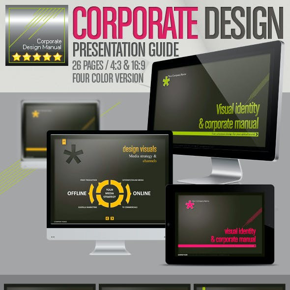 Corporate Design Manual // Design Presentation //