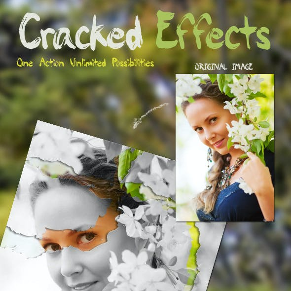 Cracked Glass Effects