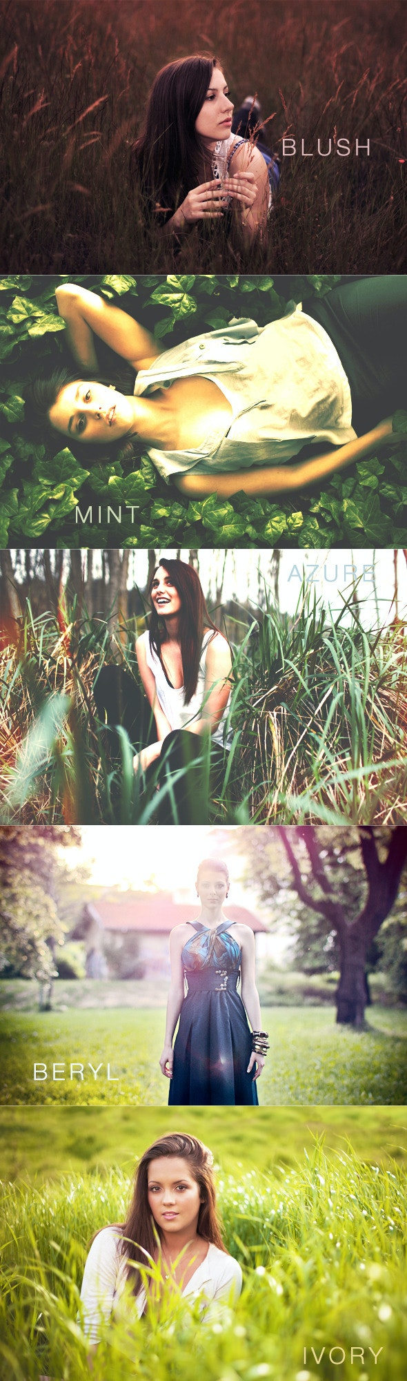 Vintage Autumn PS Photo Actions - Photo Effects Actions