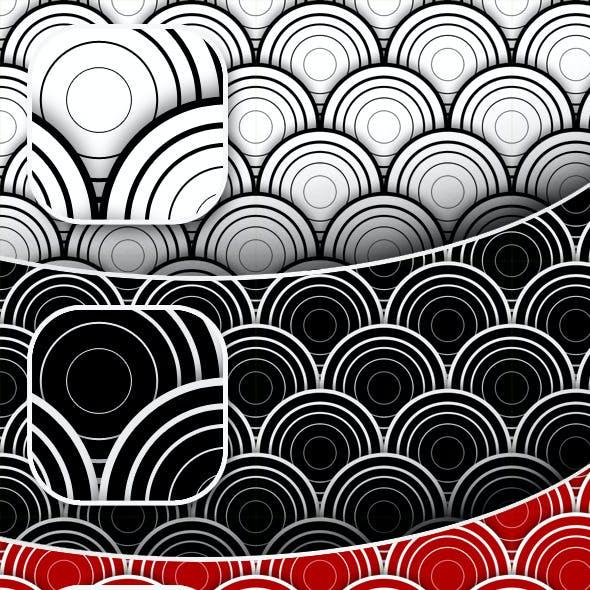 7 Seamless Circles Patterns