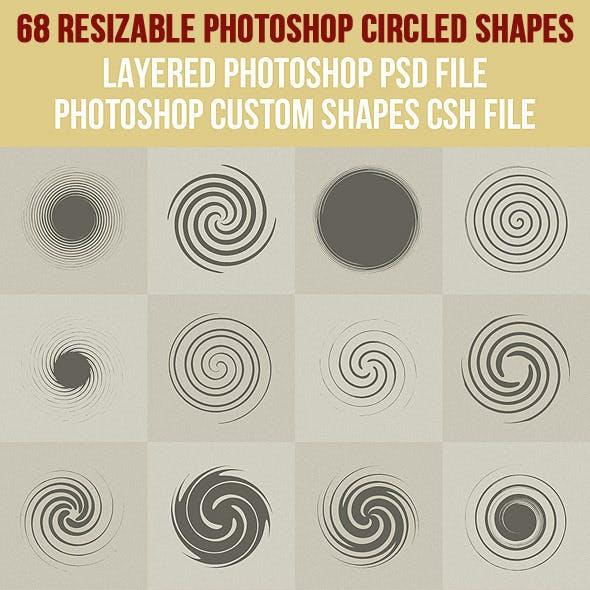 68 Photoshop Circled Shapes 1