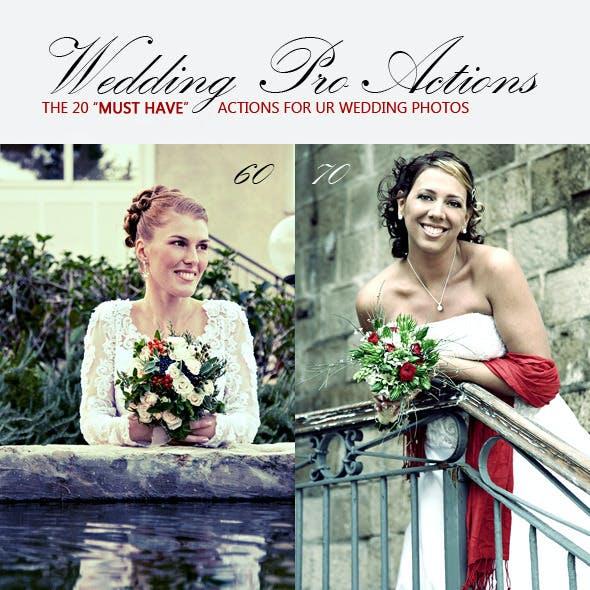 20 Wedding Pro Actions