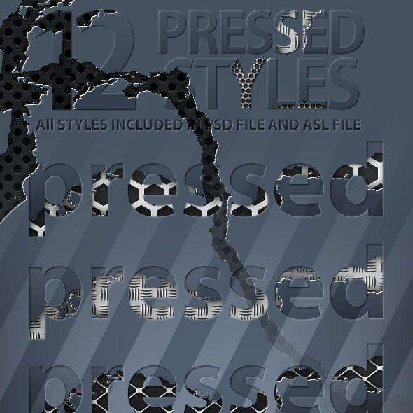Pressed Styles