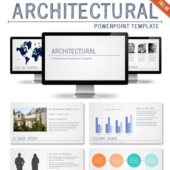 Architectural Powerpoint Presentation Template