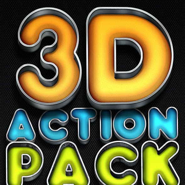 3D Action Pack 2