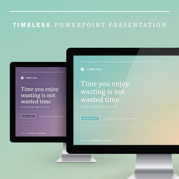 Timeless Powerpoint Presentation
