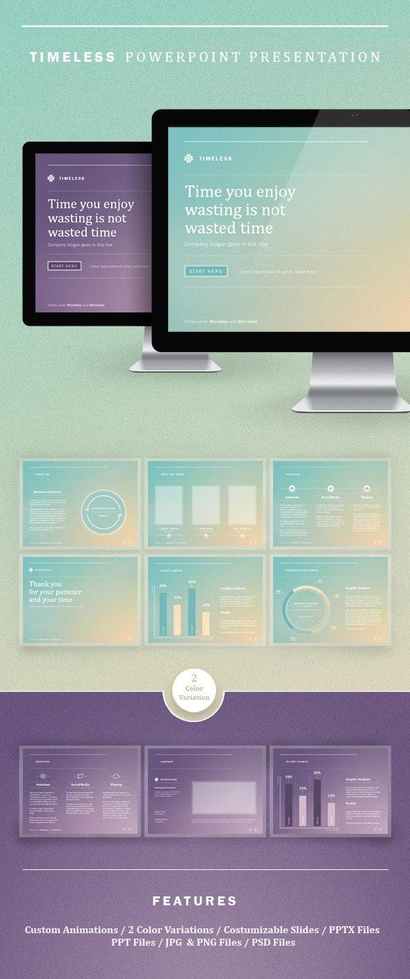 Timeless Powerpoint Presentation - PowerPoint Templates Presentation Templates