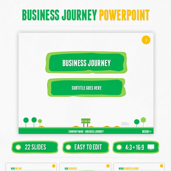 Business Journey PowerPoint