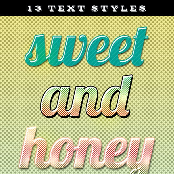 Candy Text Styles