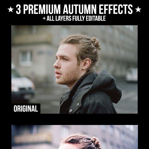 3 Premium Autumn Effects