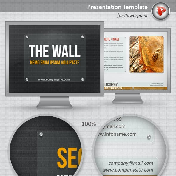 The Wall PowerPoint Template