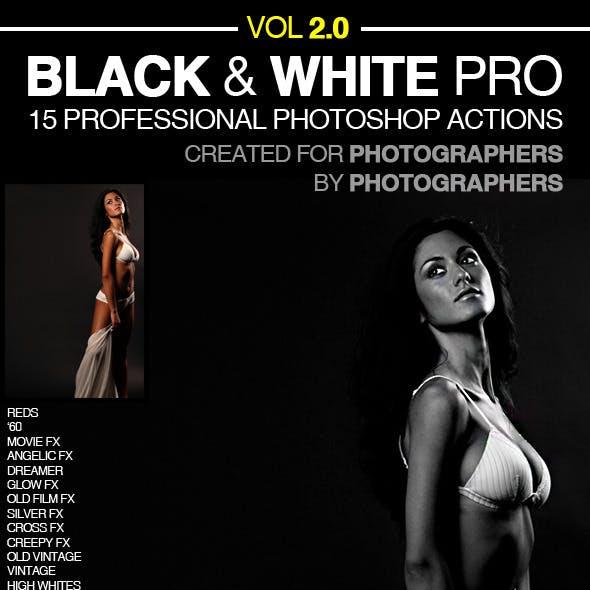 Black & White Pro Actions 2.0