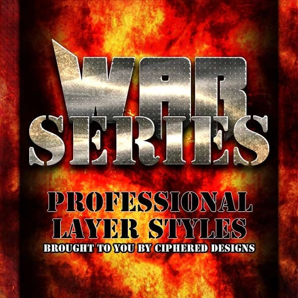 War Series - Professional Layer Styles