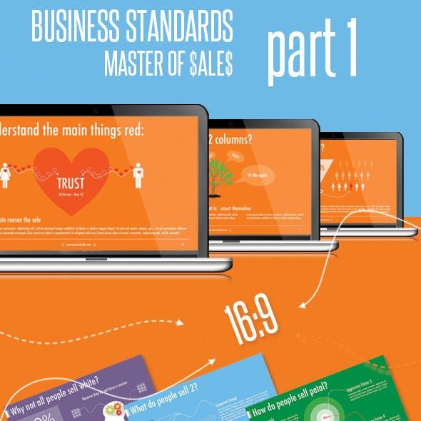 Master of Sales, Part 1. Keynote.