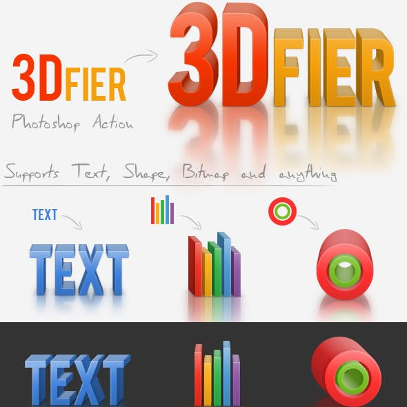 3Dfier – Solid Maker Action with 3D Reflection