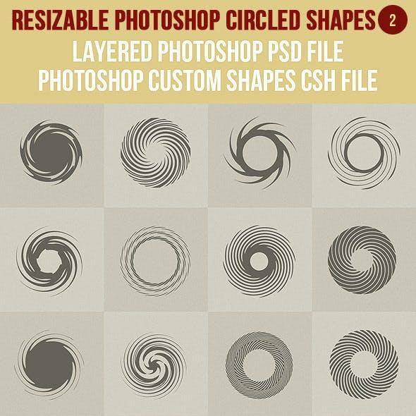 Photoshop Circled Shapes 2