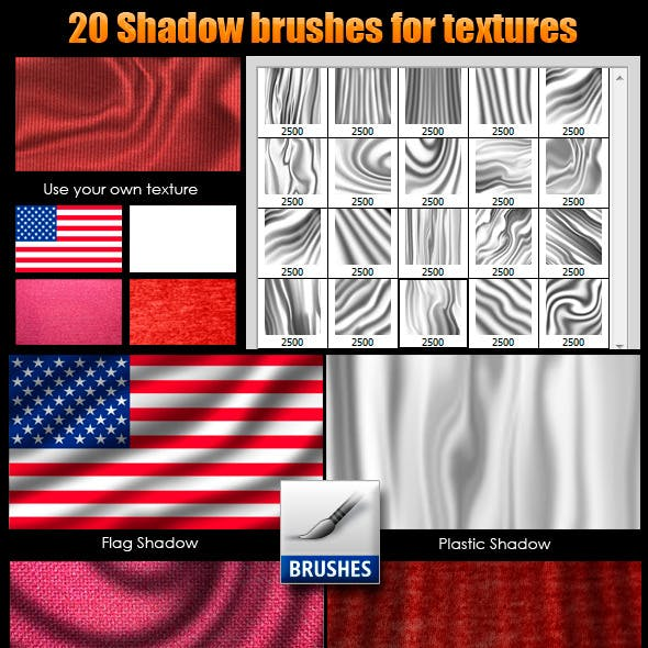 Shadow Brushes for Textures